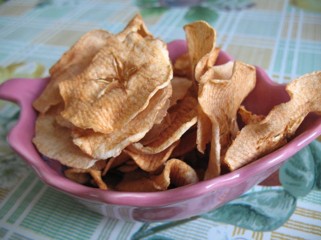 Как сделать яблочный чипсы 241