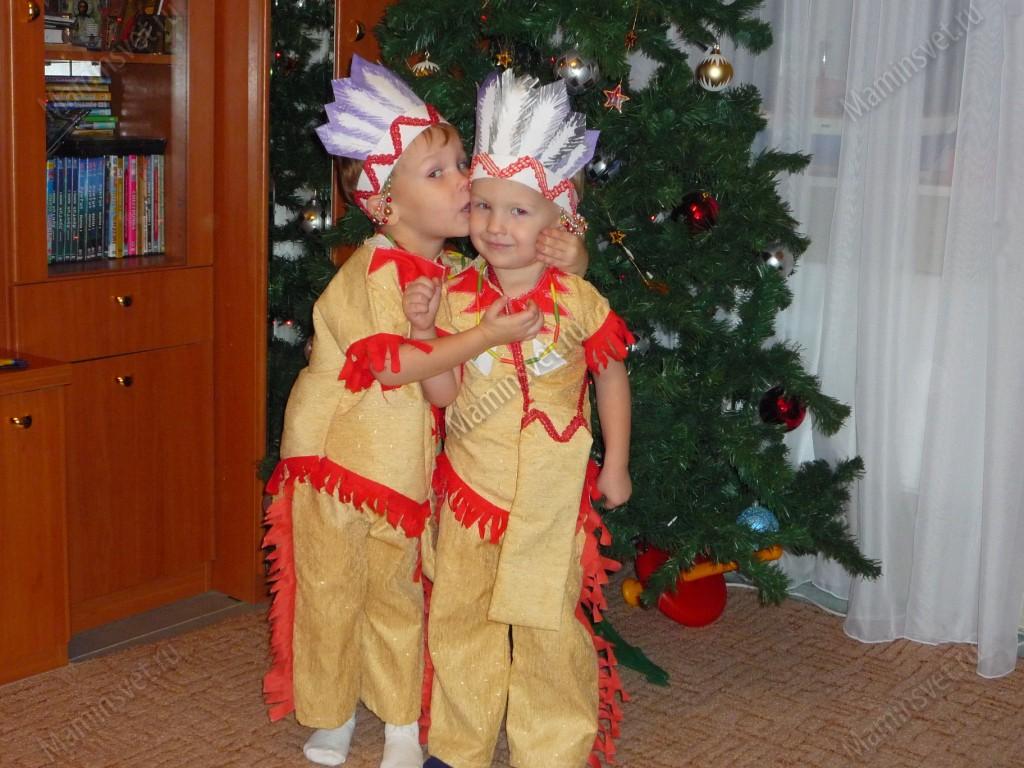 Как сделать костюм индейца своими руками из подручных материалов 95