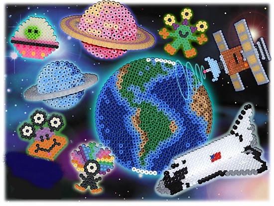 схемы космических картинок