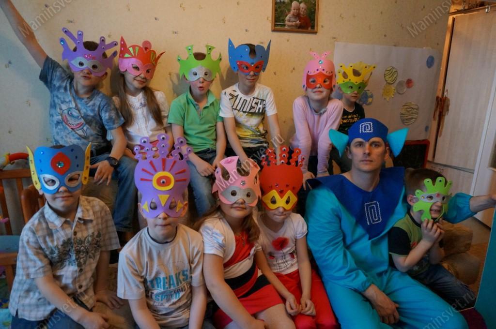 Конкурсы для детей инопланетяне